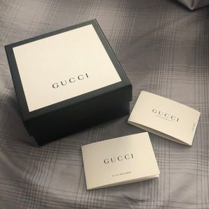 Gucci collectible box for belt, tie men's wallet
